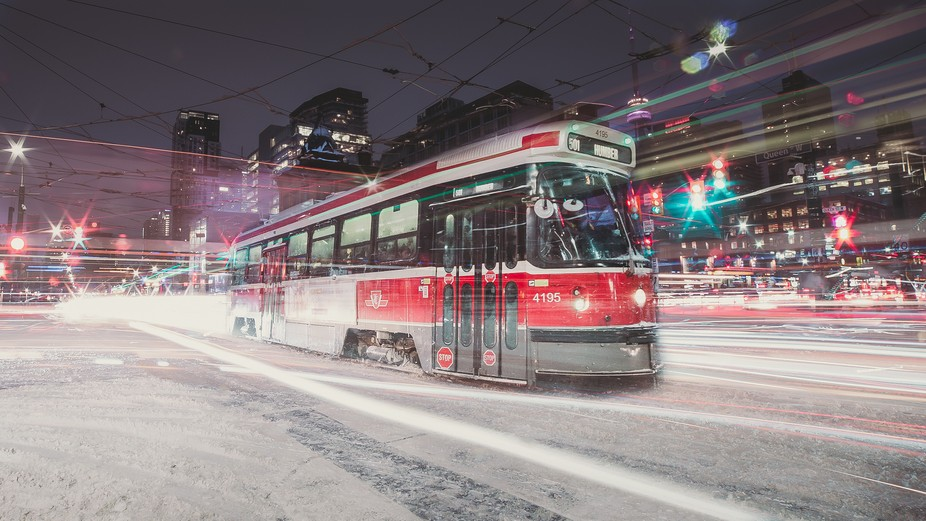 Me and my girlfriend went on a photo mission on the streets of Toronto, and I had in mind the pho...