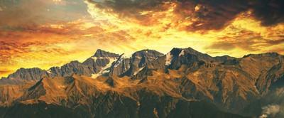 Panorama - Delhosie mountain