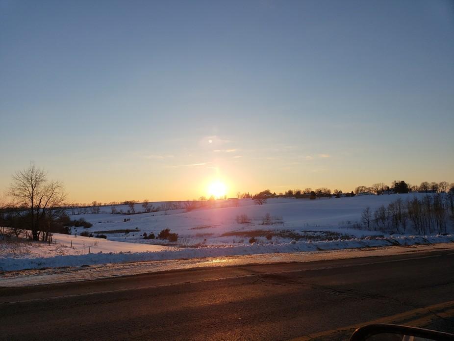 Frozen flare
