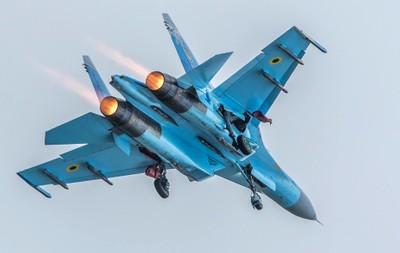 Ukraine Air Force Sukhoi Su-27 Flanker