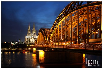 Köln in der Nacht