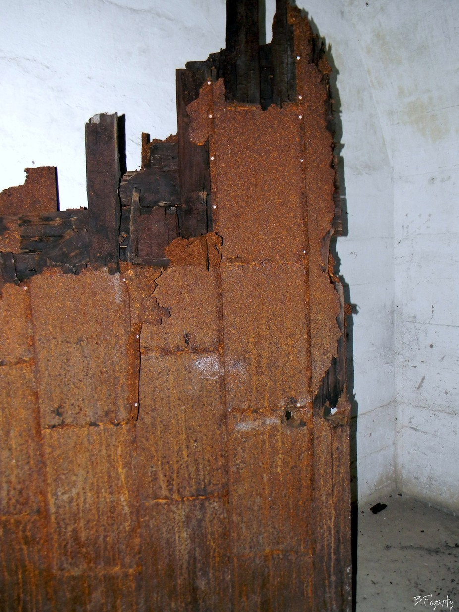 Once a door at Fort.Totten