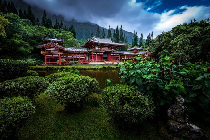 Byodo-In Temple by AMills - The Magic Of Japan Photo Contest
