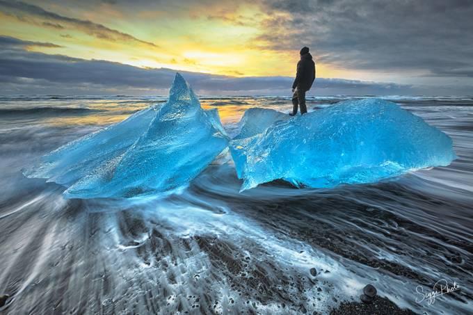 Frozen Shores by SiggiPhoto - We Love The Winter Photo Contest