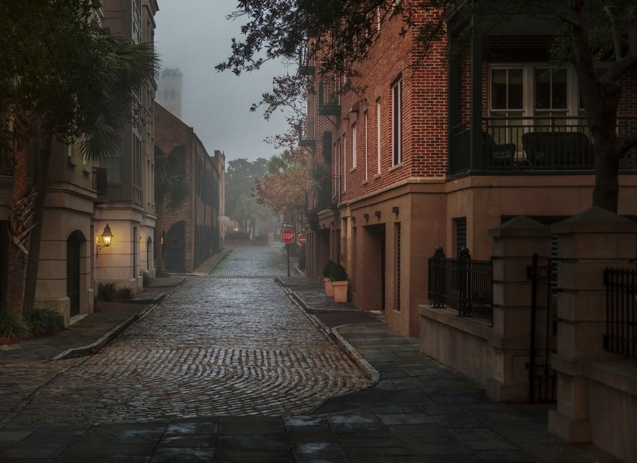 There is nothing like wandering the streets of Charleston, South Carolina early in the morning. S...