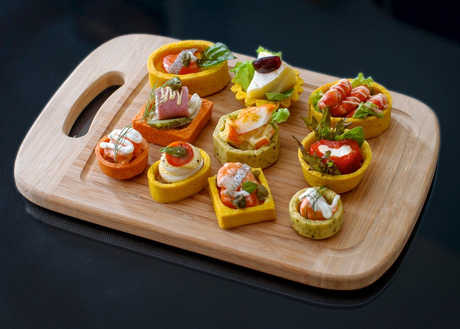 Savory Tartlet Creations