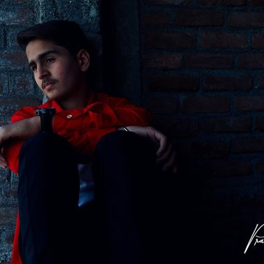 Photoshoot  with my friend!