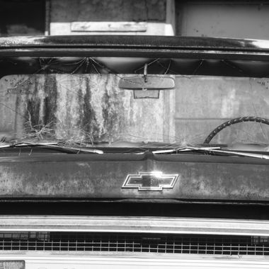 Chevy truck front BNW