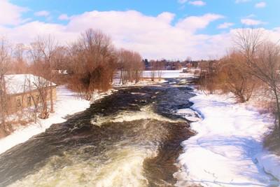 Rideau River in March