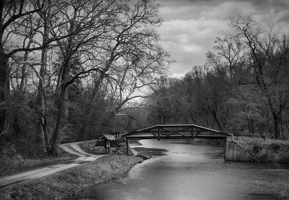 A Bridge in Spring