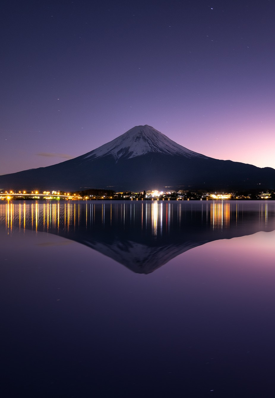 Good Night Fujisan by kimmaynardgo - The Magic Of Japan Photo Contest