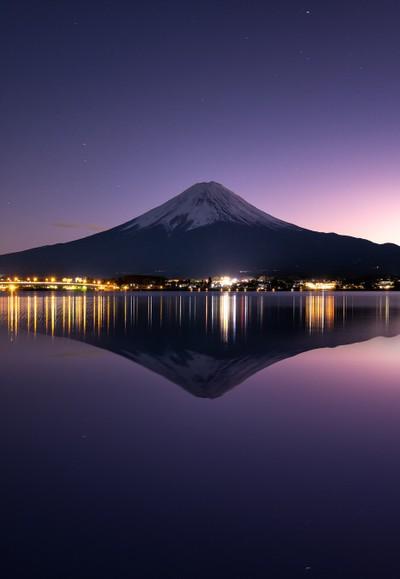 Good Night Fujisan