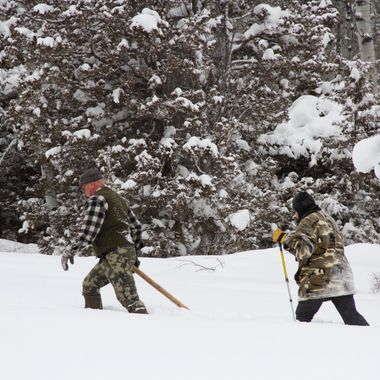 Trek Through Snow