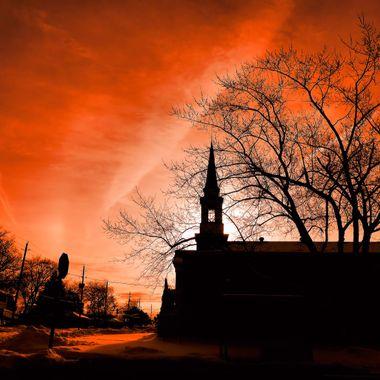 Sunrise Church.
