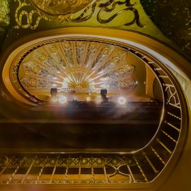 Orpheum Theatre, Phoenix - Peacock Staircase From Bottom to Top