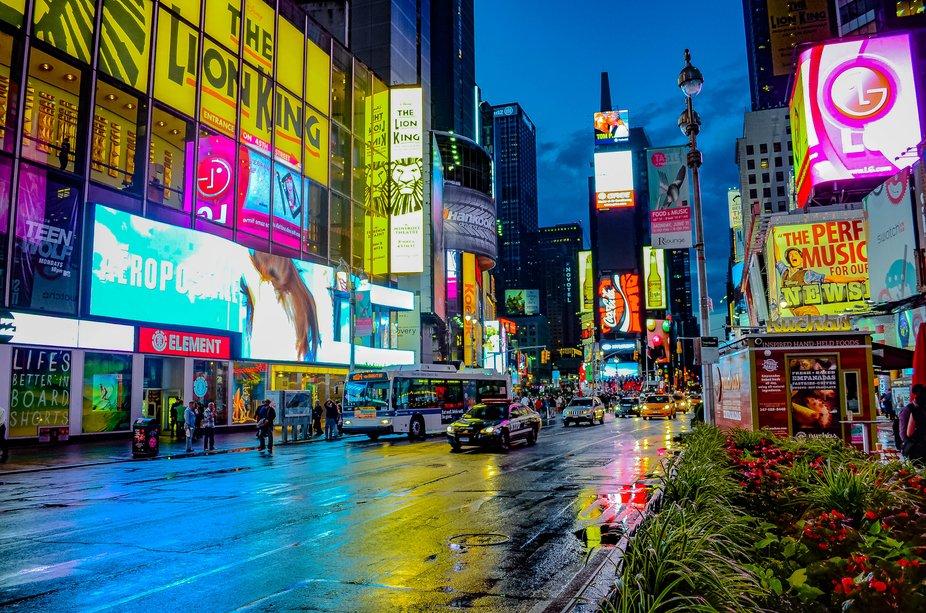 New York city avenue
