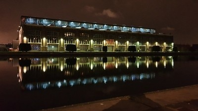 Haarlem by night - Figee building