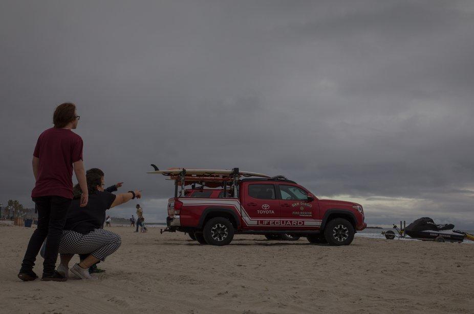 Mission Beach; San Diego, California