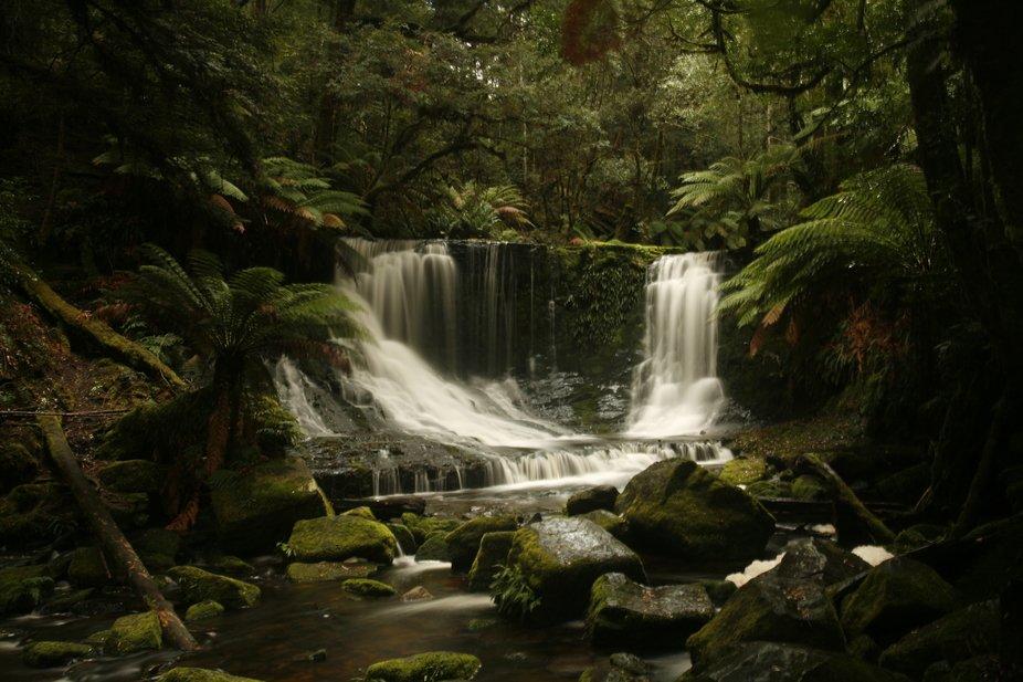 One of the most beautiful waterfalls in Tasmania.