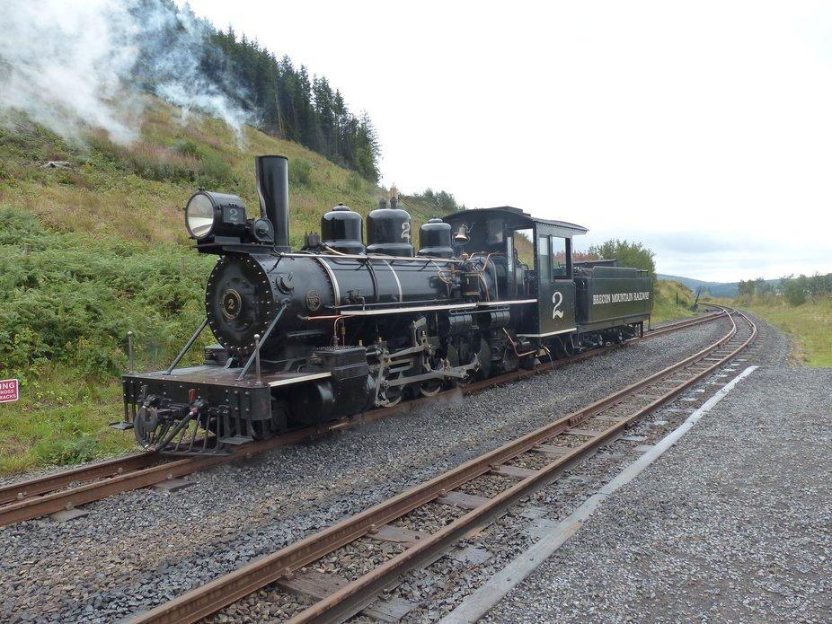 Steam railway in Wales