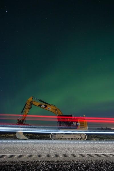Northern Lights Under Construction