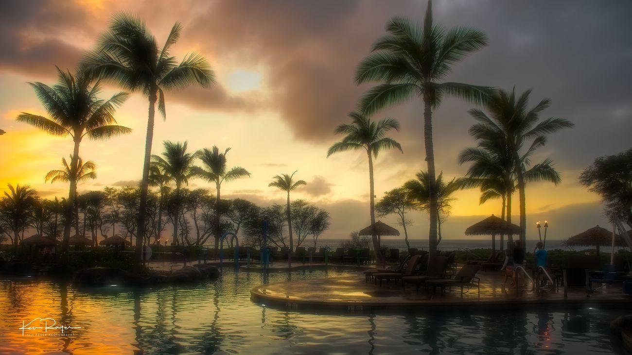 Maui Sunset - Wednesday