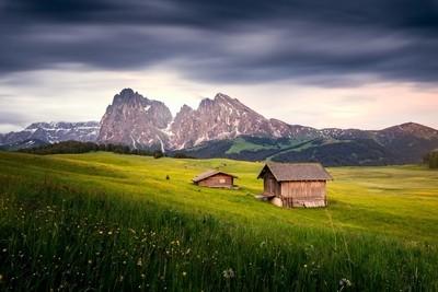 Long exposure at the Alpe di Suisi