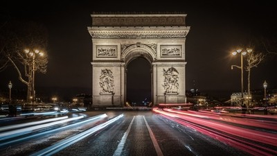 Arc du Triomphe by Night