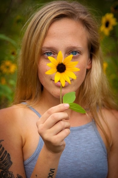 You're a Sunflower