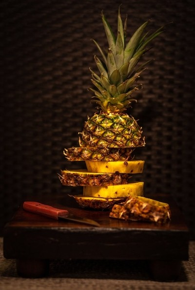 Be a pineapple: Stand tall, wear a crown, and be sweet on the inside...