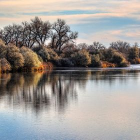 Wyoming Morning River