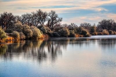 Wyoming Morning River
