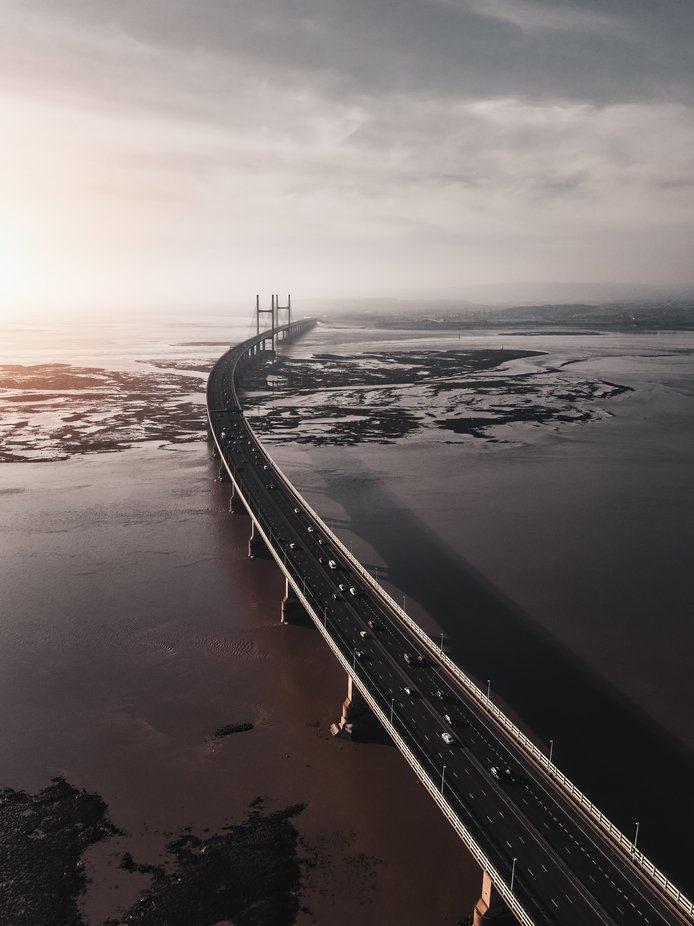 Second Severn Crossing by RGW-Photography - Above The Earth Photo Contest