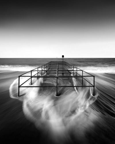 Boscombe beach, UK