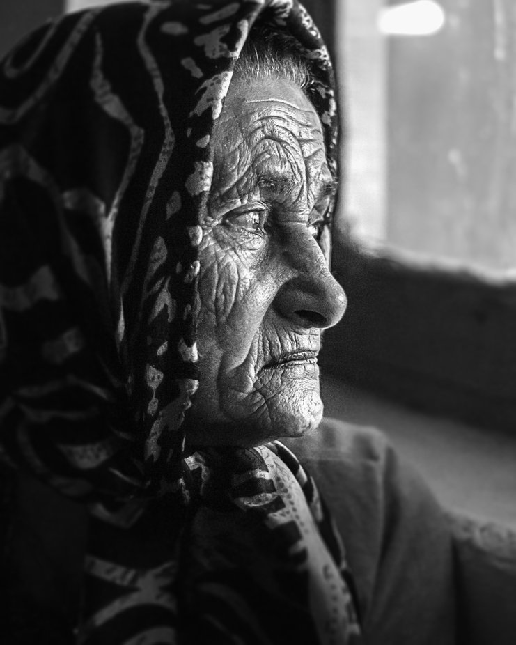 lines of life on her beautiful face by farhadpournasiri - Social Exposure Photo Contest Vol 21