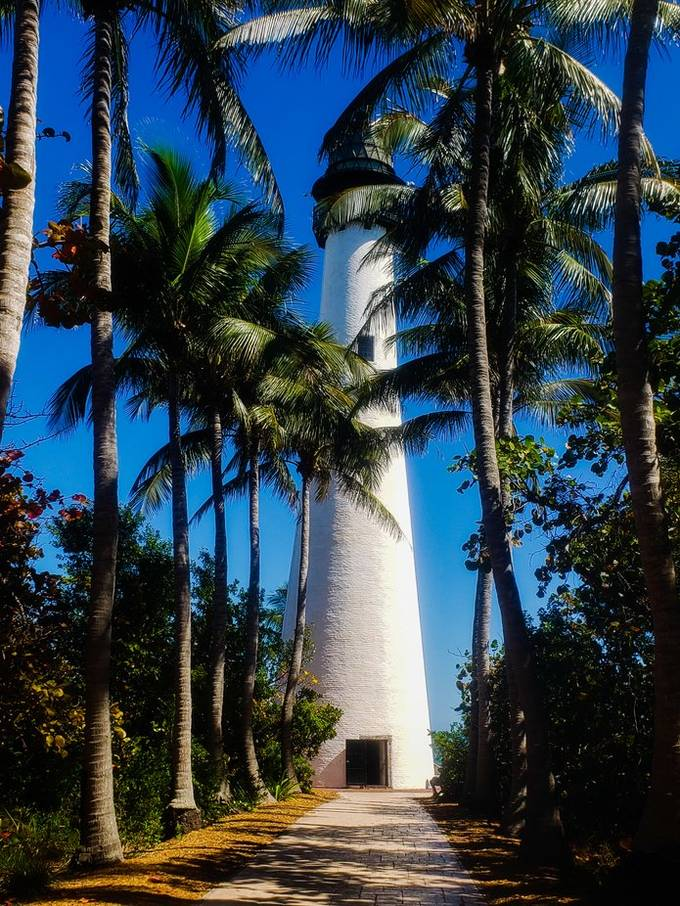 Key Biscayne, Fl Lighthouse