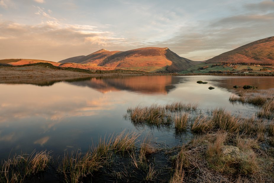 Tewet Tarn  Out early one morning and spent an hour before work taking in the scenery at Tewet Ta...
