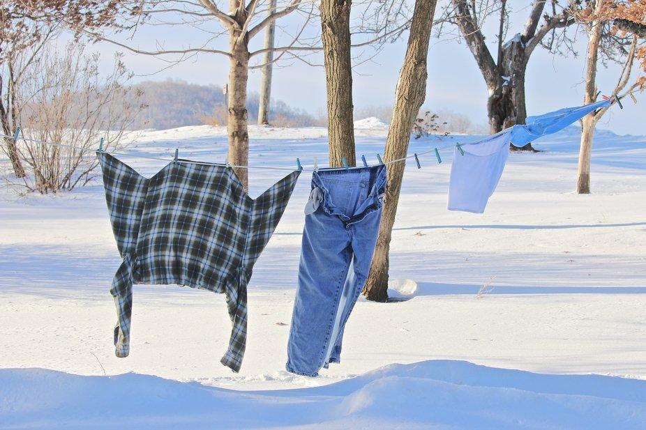 Frozen Laundry