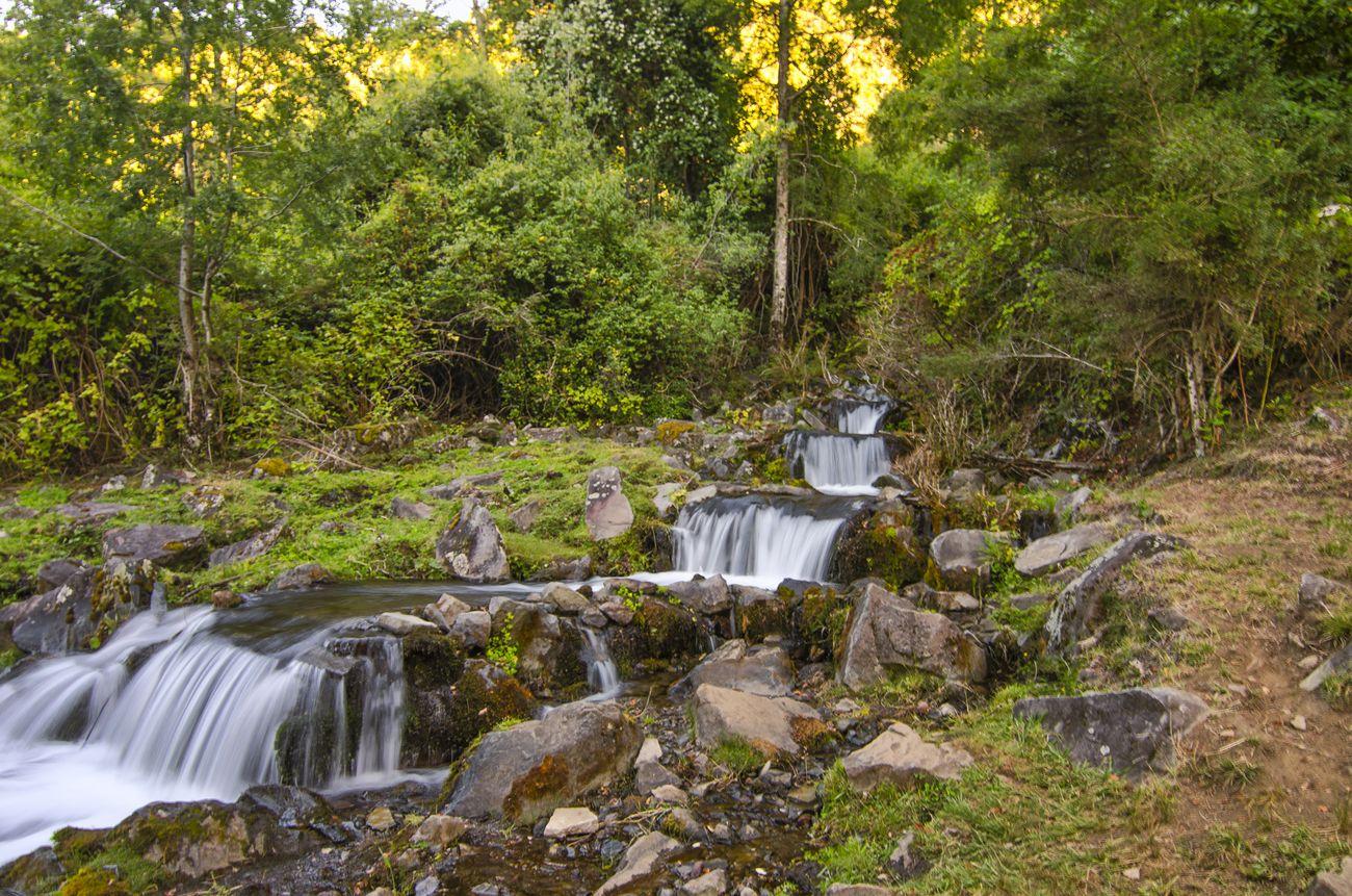 cascada camino a Liquiñe