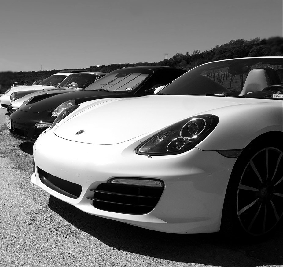 Porsche Club of Austin March Rally Race.