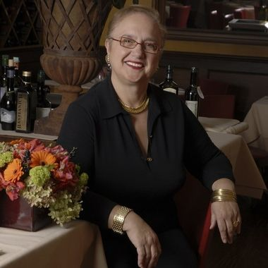 Location portrait of celebrity chef and restaurateur Lidia Bastianich