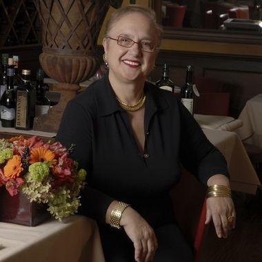 Location portrait of celebrity chef and restaurateur Lidia Bastianich
