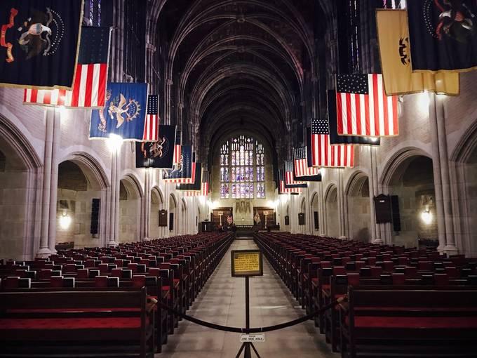West Point Cadet Chapel.