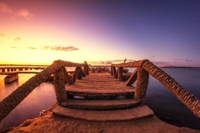 Siwa Egypt sunset