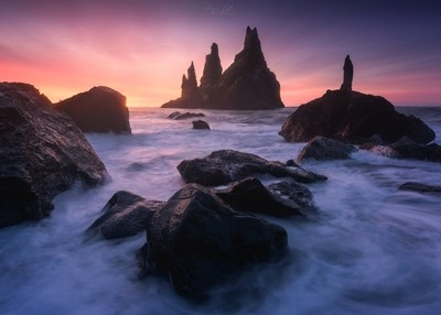 Kiss of Reynisdrangar