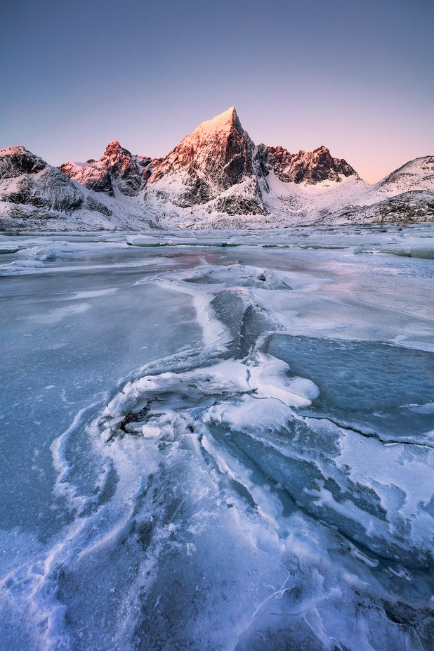 Ice Glow by Mbeiter - We Love The Winter Photo Contest