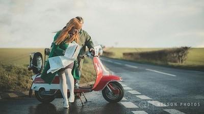 Road to nowhere. . . . . #lambretta #lambrettagram #lambrettas #lambrettalovers #lambrettaclub #collectif #collectifclothing #girl #boy #runaway #road #vintage #fashion #scooter #oldfashion #mod #mods #quadrophenia #countryside #model #modelling #photosho