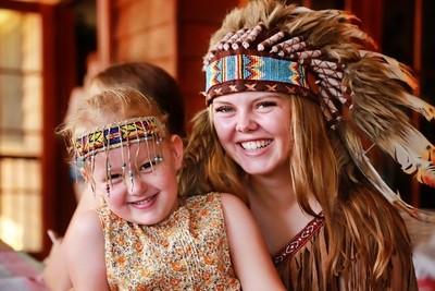 Pocahontas and Mini