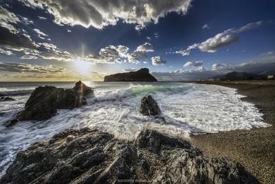 Sunset a Praia a mar