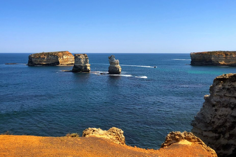 The Bay of Islands on the Great Ocean Road, Australia.